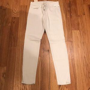 NEW JBeand White Skinny Jeans 28